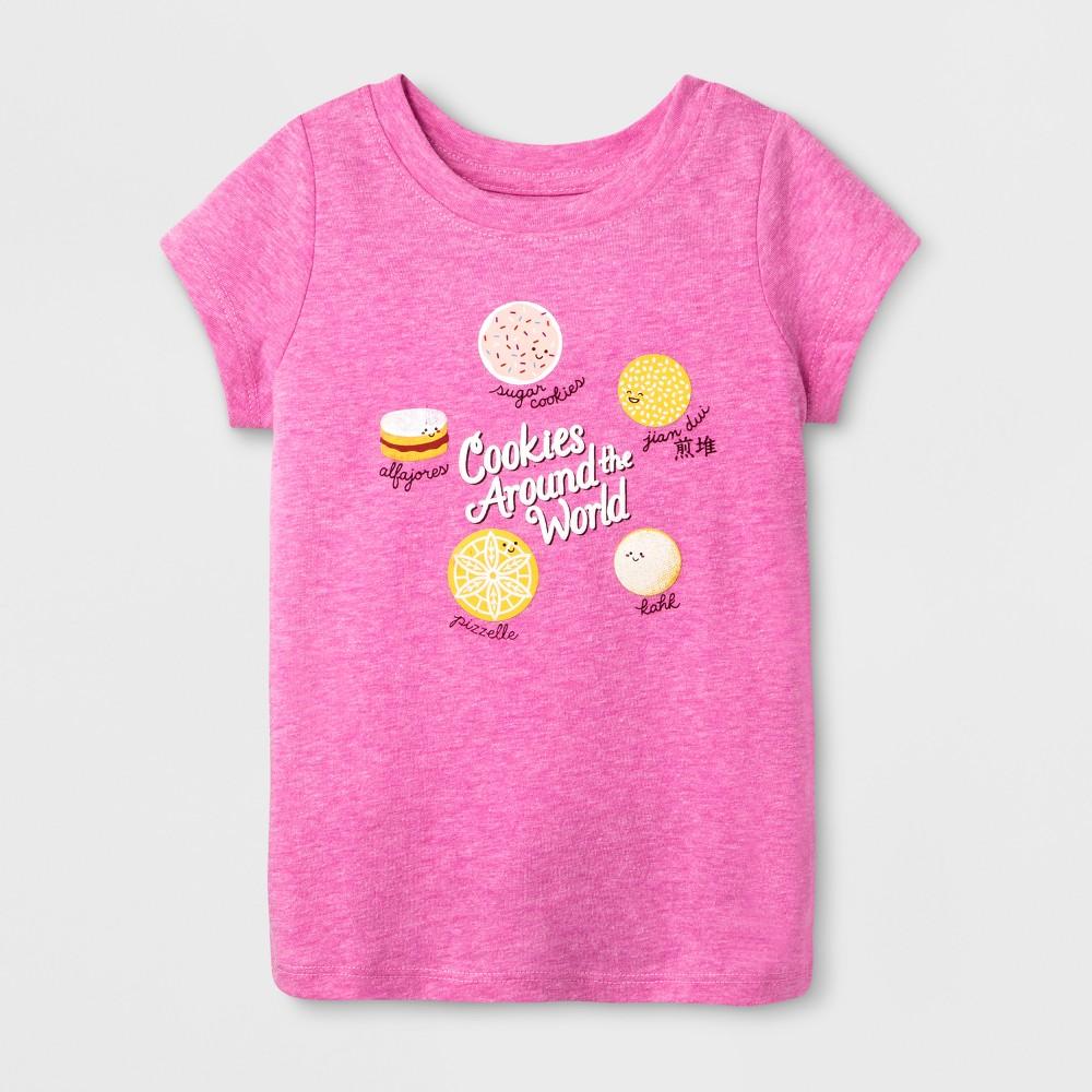 T-Shirt Pizzazz Pink 12 Months, Toddler Girls, Size: 12 M