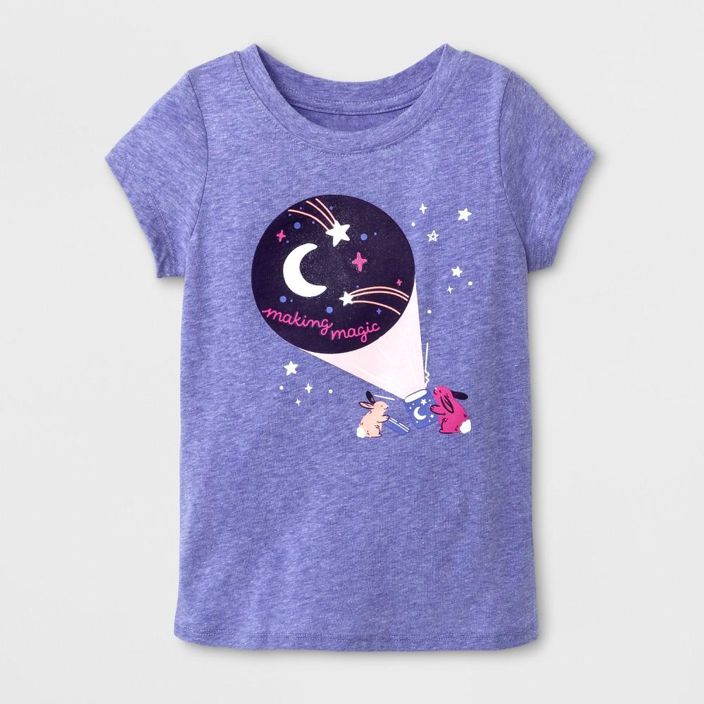 T-Shirt Verily Iris 5T, Toddler Girls, Purple