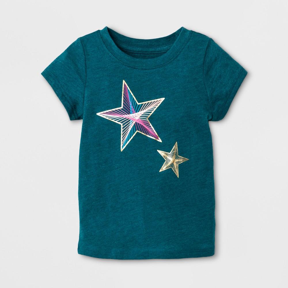 T-Shirt Fiji Teal 12 Months, Toddler Girls, Size: 12 M, Blue