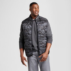 Men's Big & Tall Standard Fit Quilted Vest - Goodfellow & Co™