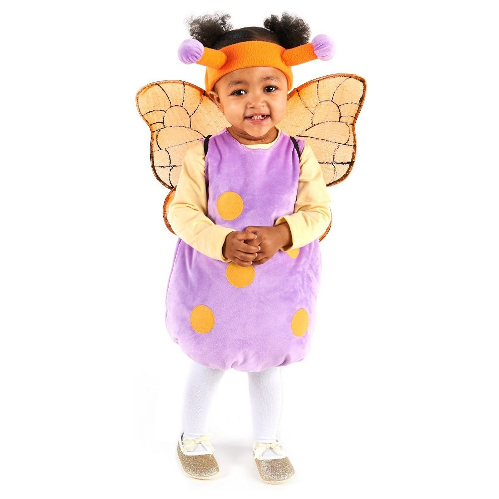 Magical Butterfly Infant Costume 6-12 Months, Infant Girls, Size: 6-12 M, Multicolored