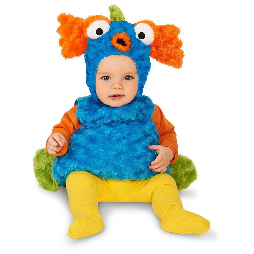 Rainbow Fish Infant Costume 12-18 Months, Infant Unisex, Size: 12-18 M, Multicolored