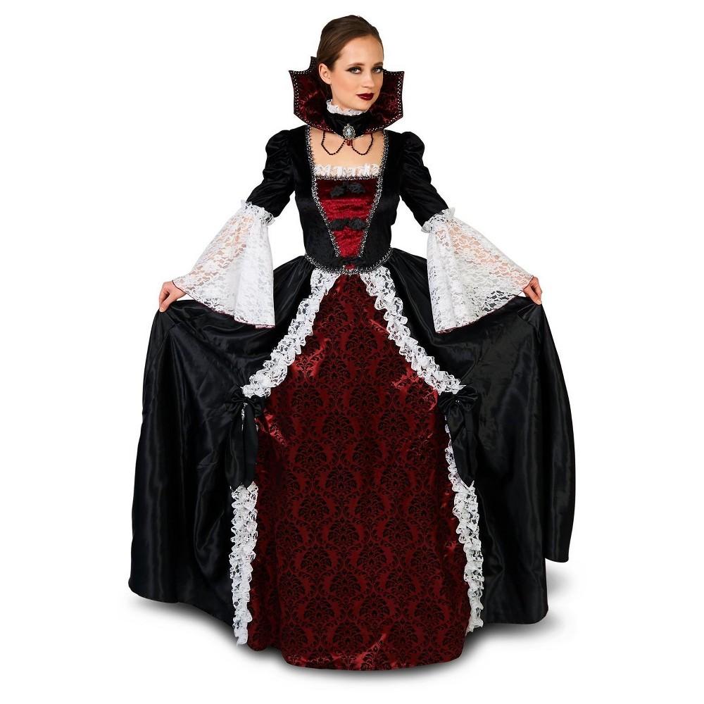 Elite Vampiress Adult Costume Medium, Womens, Multicolored