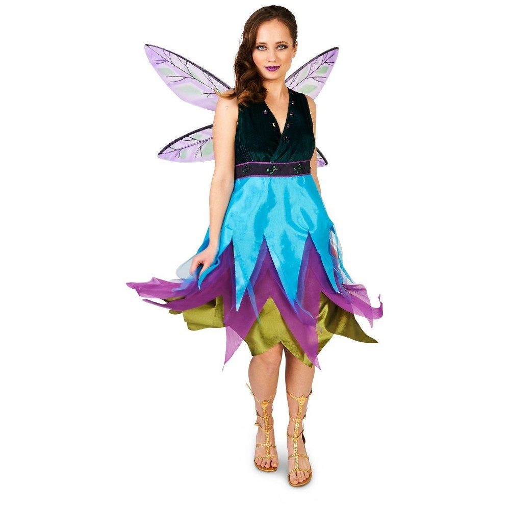 Witching Hour Dragonfly Adult Costume Small, Womens, Multicolored