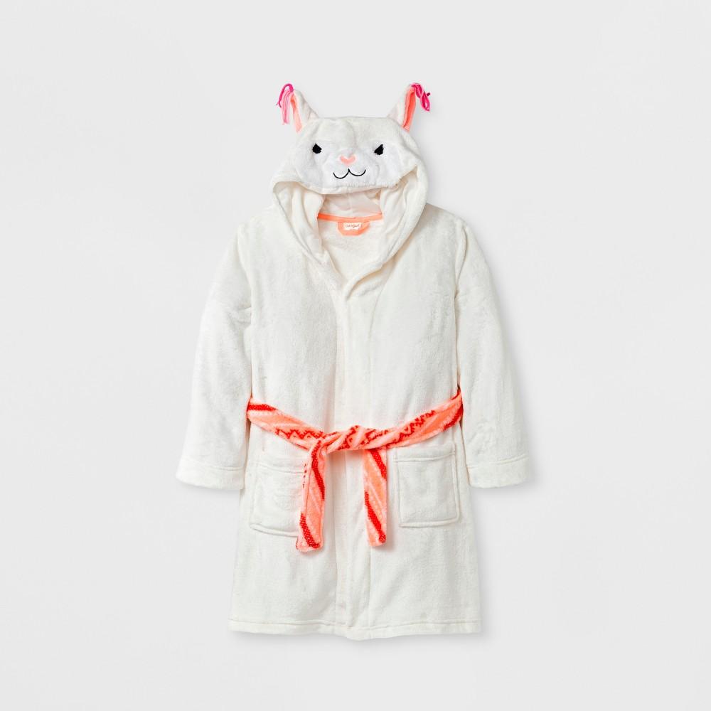 Girls Robes - Cat & Jack Cream S, White