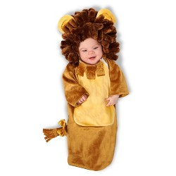 Cuddly Lion Infant Costume Bunting 0-6 Months