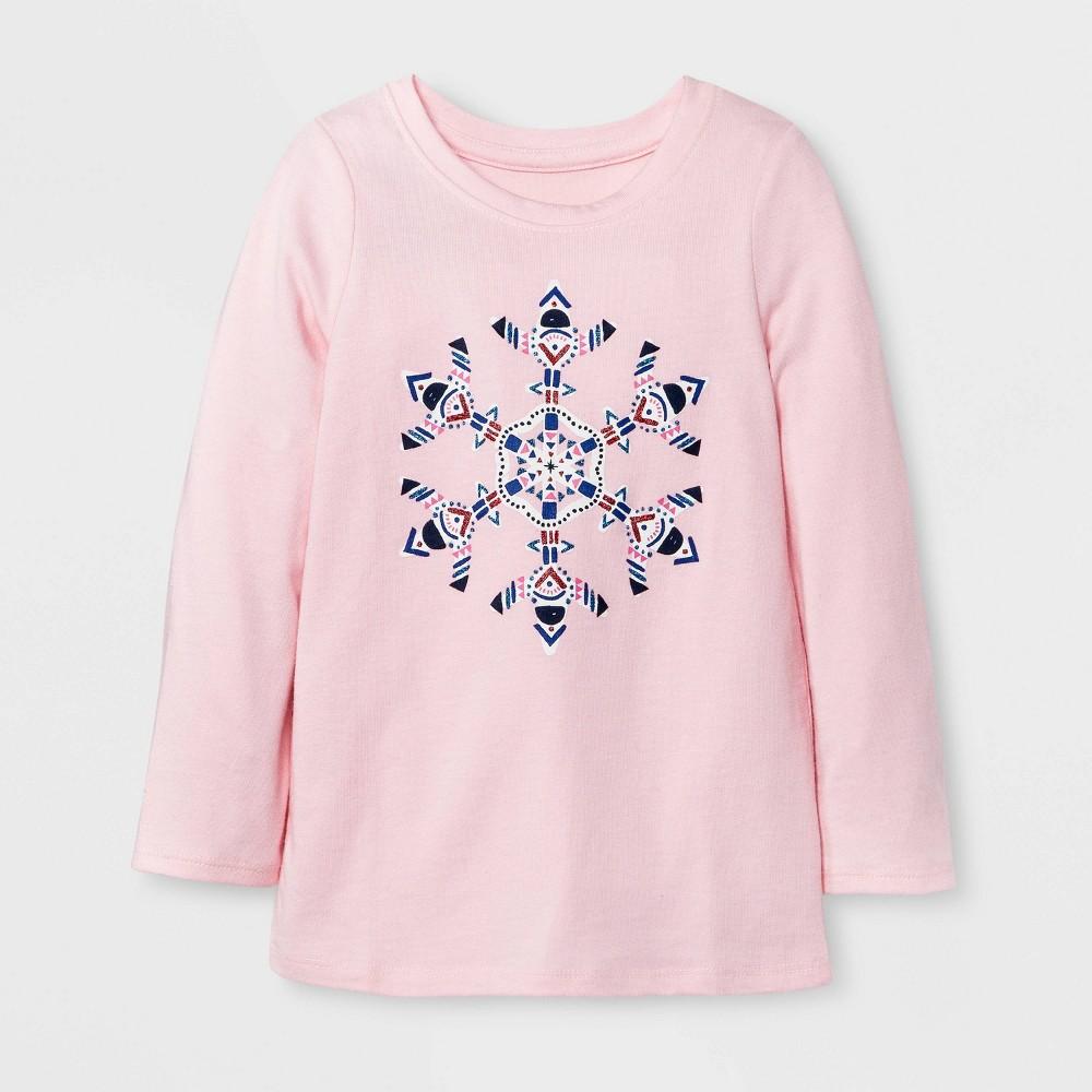 T-Shirt Restful Pink 12 Months, Toddler Girls, Size: 12 M