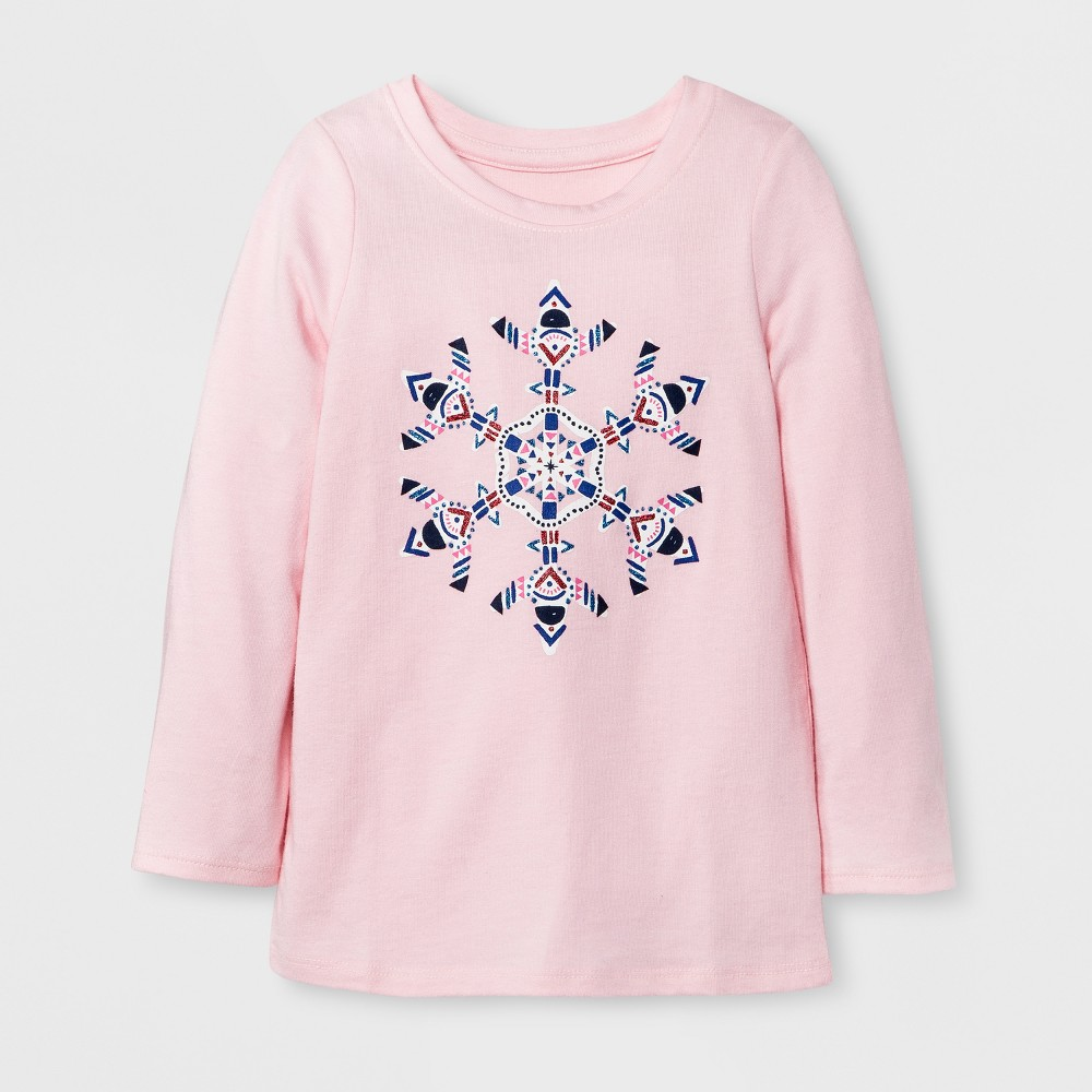 T-Shirt Restful Pink 5T, Toddler Girls