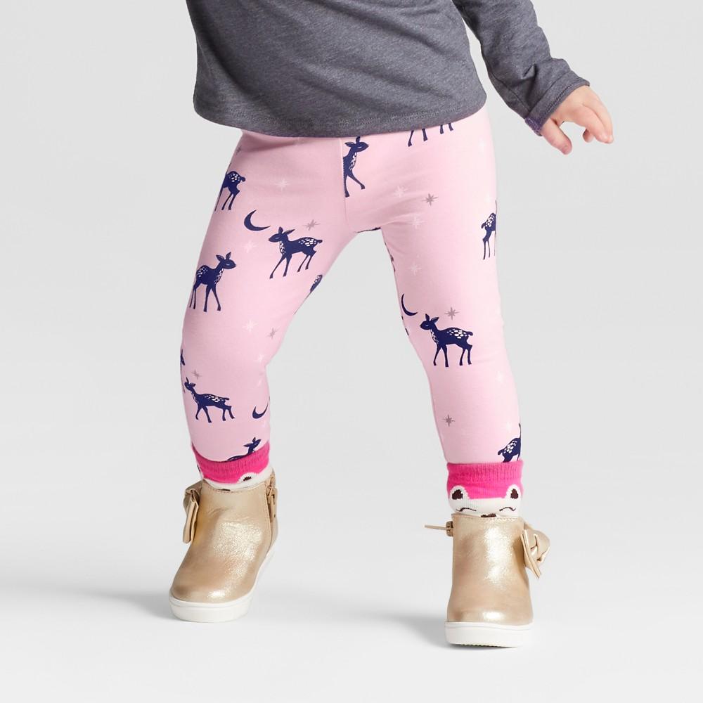 Leggings Pants Cat & Jack Light Pink 4T, Toddler Girls