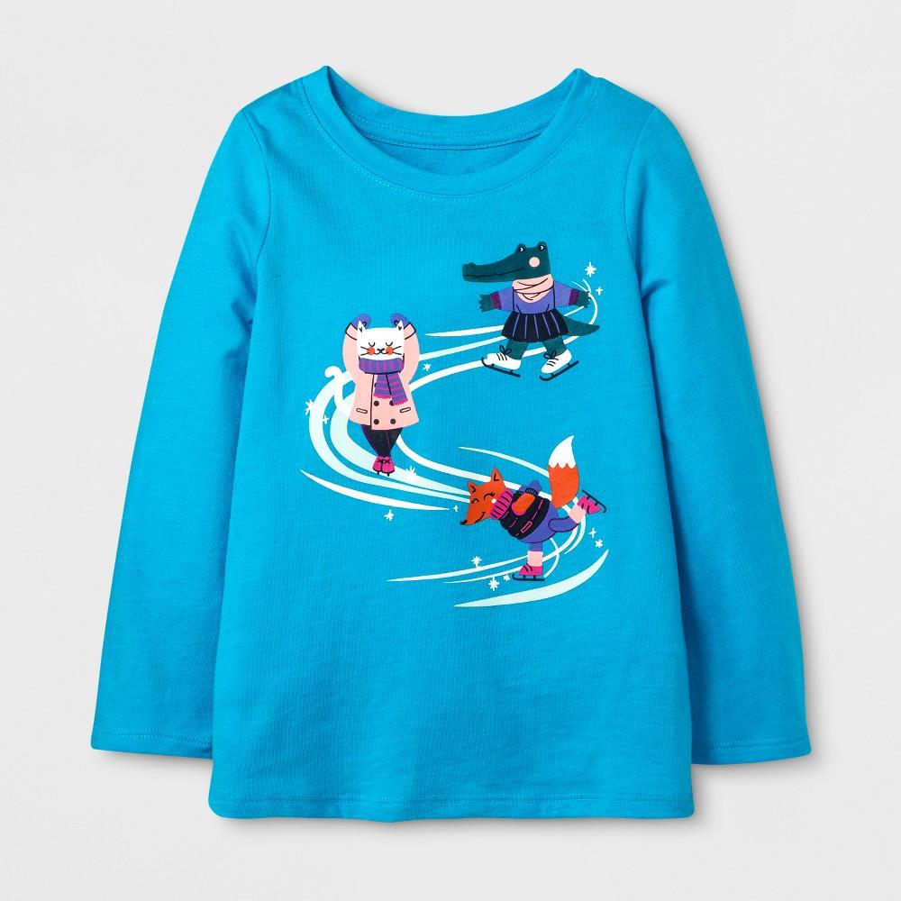 T-Shirt Panama Blue 5T, Toddler Girls