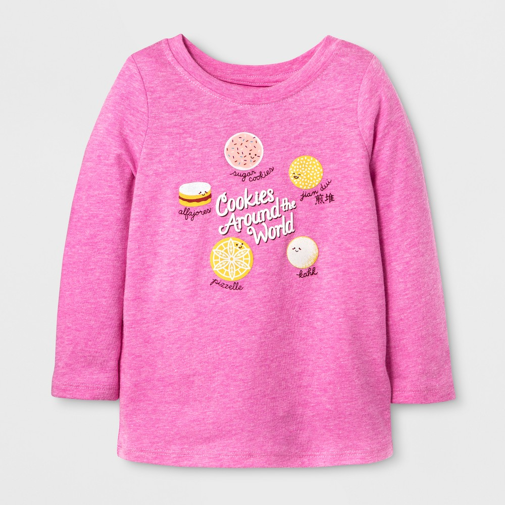 T-Shirt Pizzazz Pink 2T, Toddler Girls