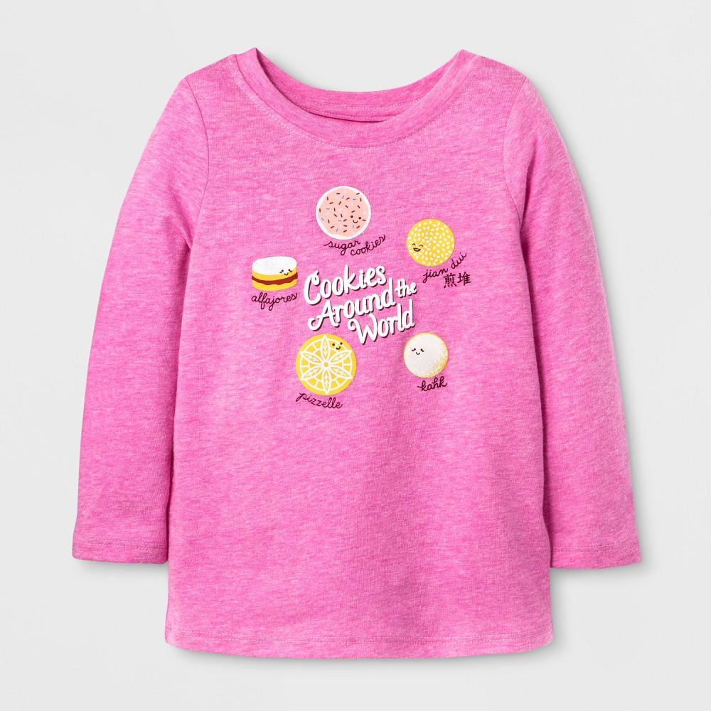 T-Shirt Pizzazz Pink 4T, Toddler Girls