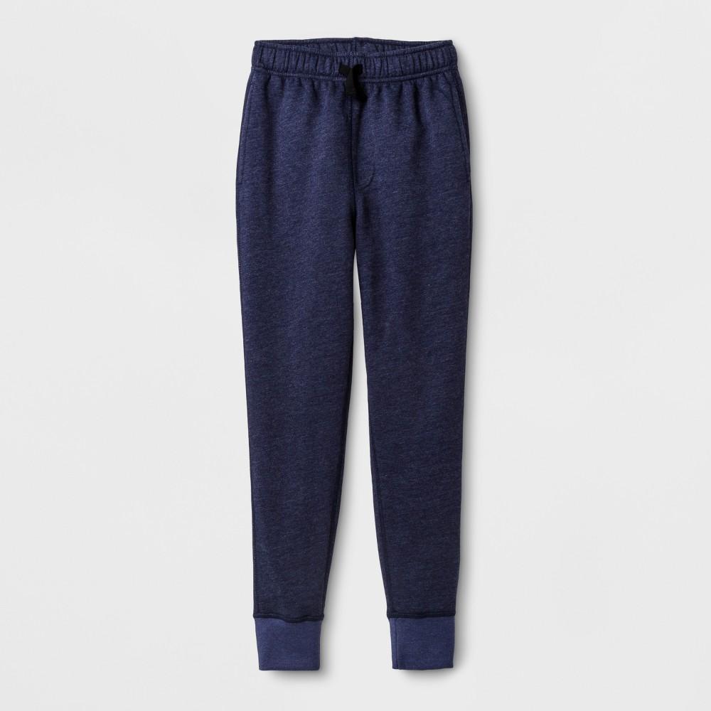 Boys' Adaptive Cuff Leg Sweatpants - Cat & Jack Blue L