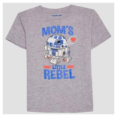 Toddler Boys' Star Wars Short Sleeve T-Shirt - Heather Gray 3T