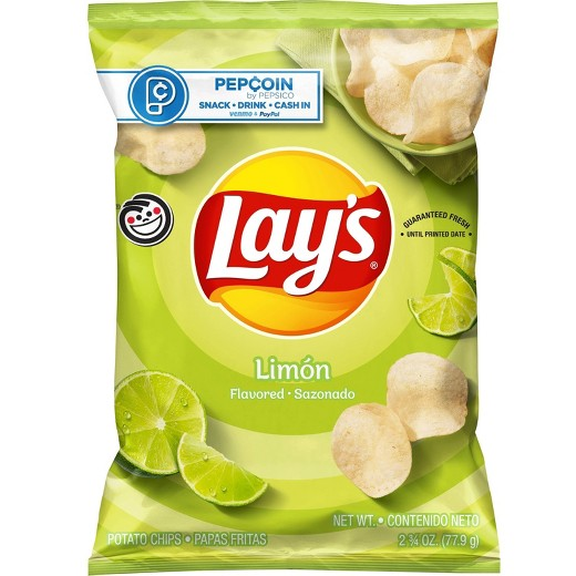 Lays Limon Potato Chips