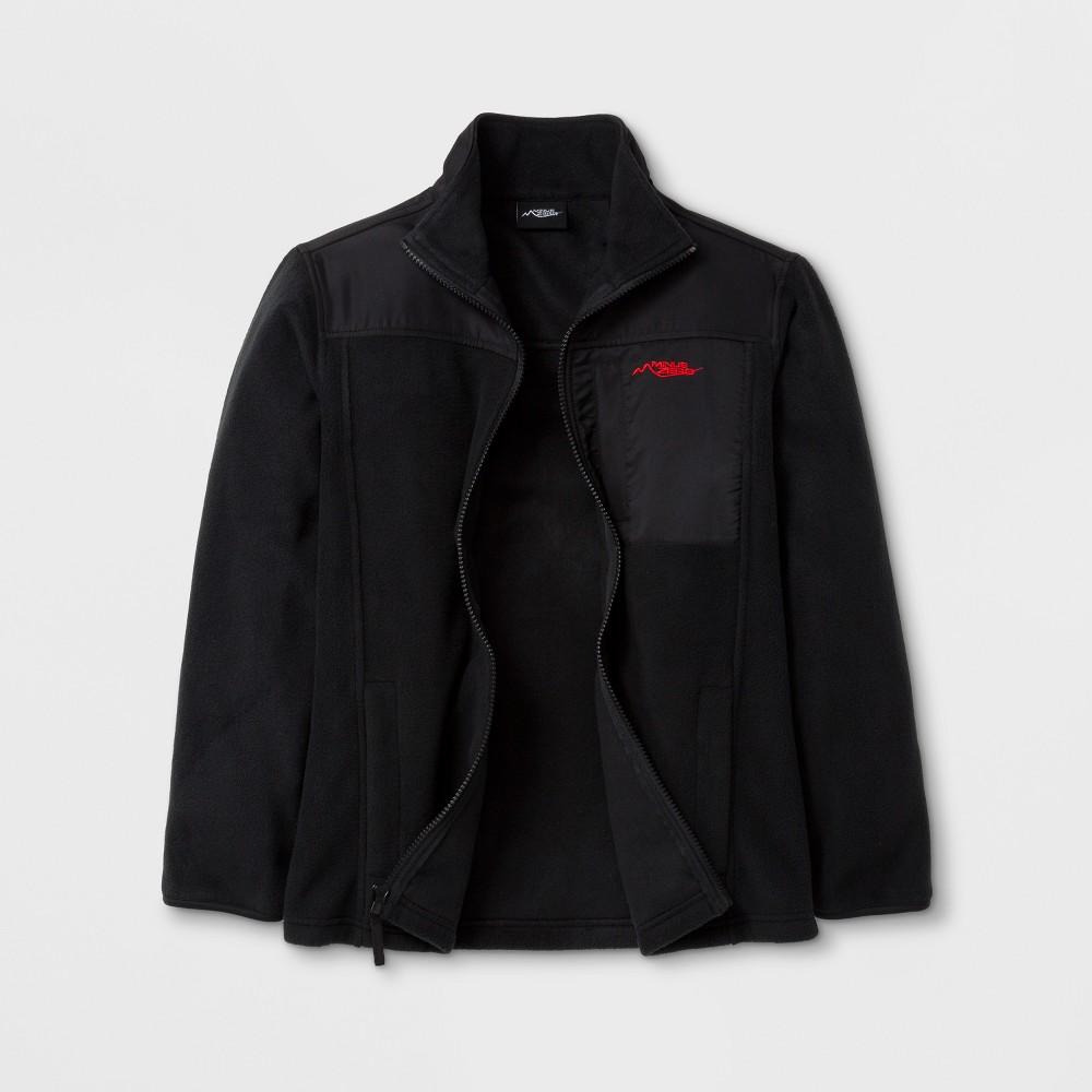 Minus Zero Boys Fleece Jacket - Black L