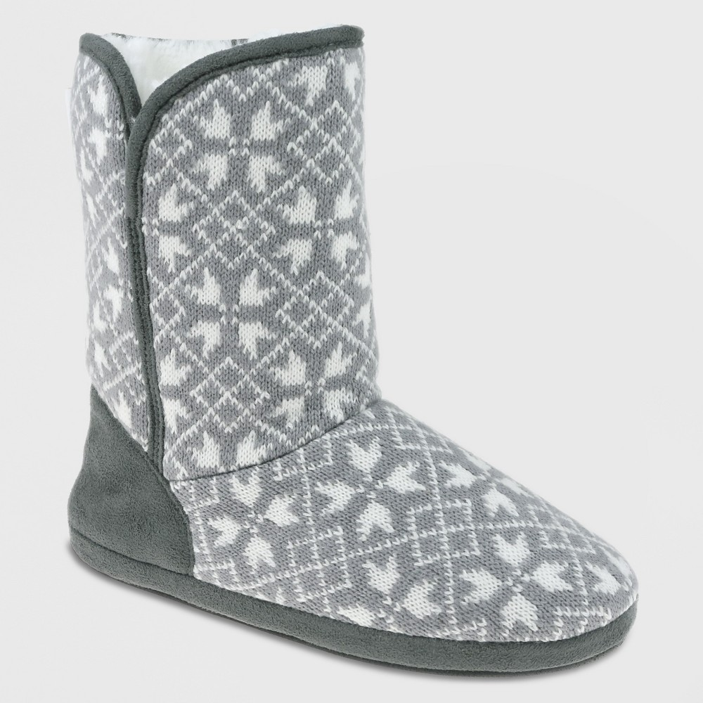Bootie Slippers Capelli Gray 6-7, Women's