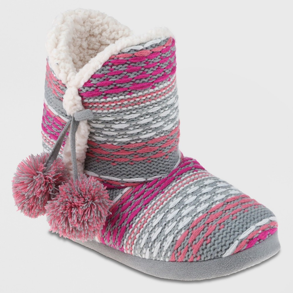 Bootie Slippers Capelli Pink 8-9, Womens