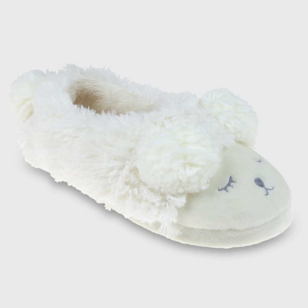 Ballet Slippers Capelli Ivory 9-10, Womens, White