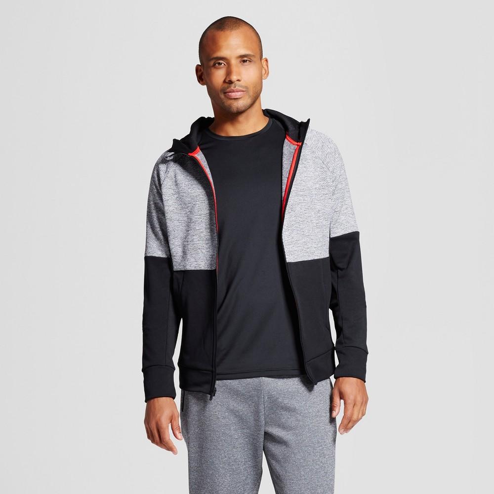 Men's Tech Fleece Full Zip Hoodie - C9 Champion Graphite (Grey) Gray Heather M