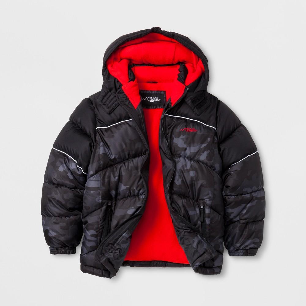 Minus Zero Boys Puffer Jacket - Black L