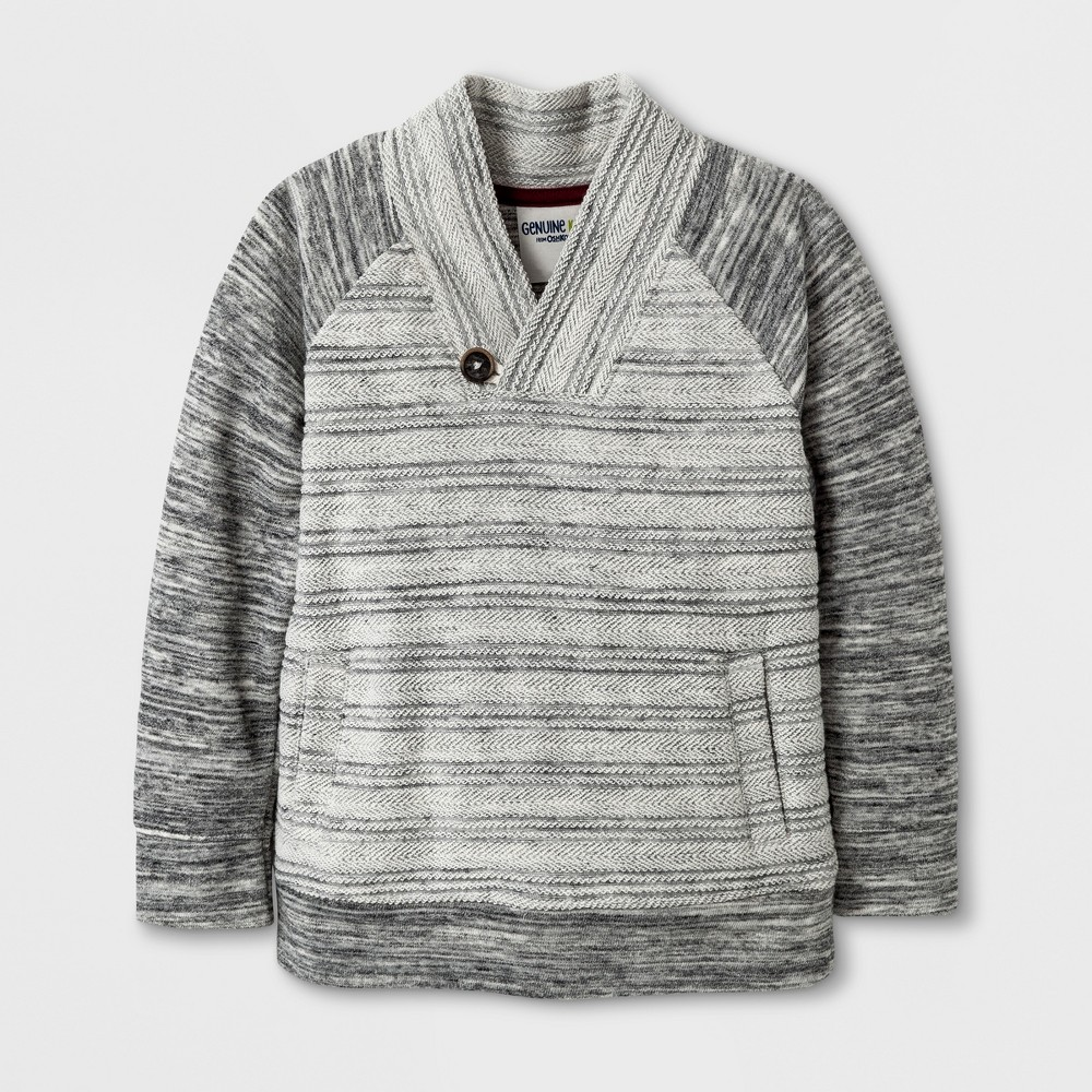Pullover Sweaters art class Heather Gray 3T, Toddler Boys