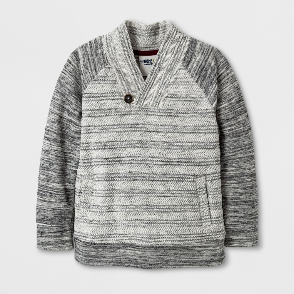 Pullover Sweaters art class Heather Gray 4T, Toddler Boys