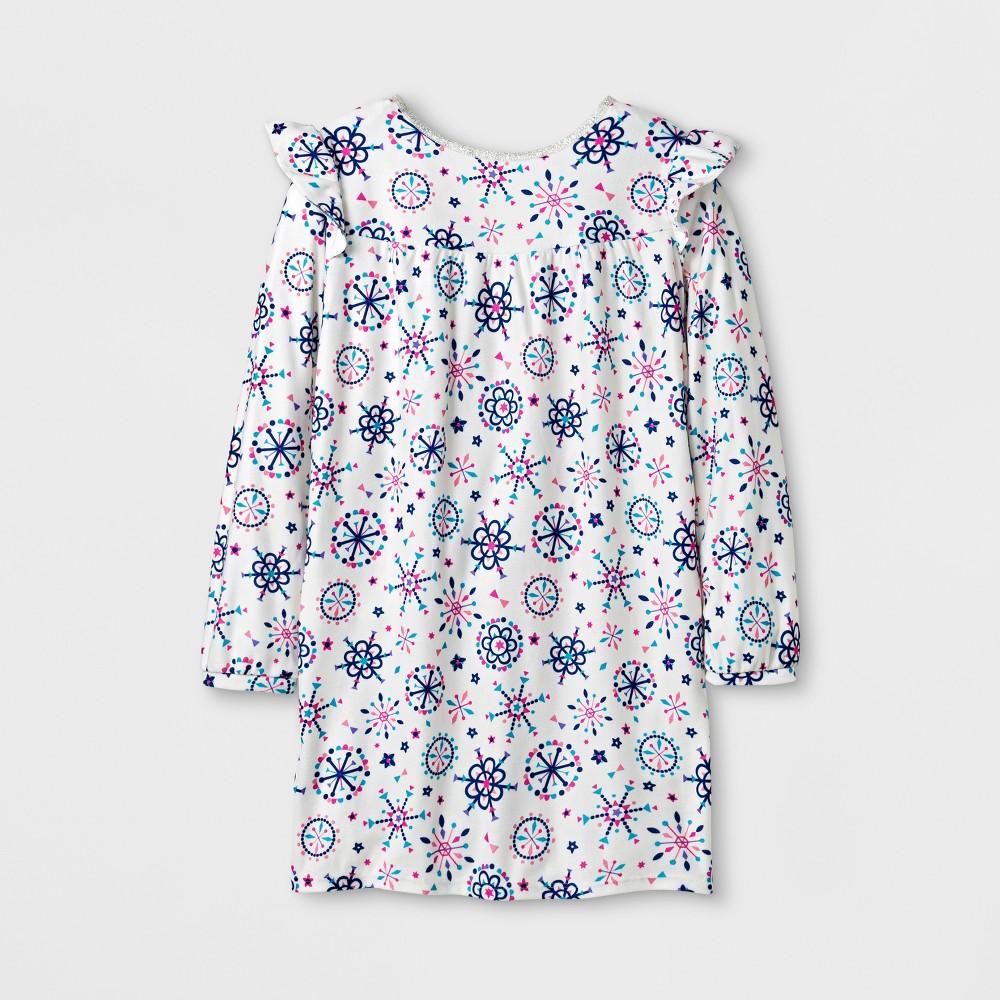 Girls Nightgowns - Cat & Jack Cream L, White