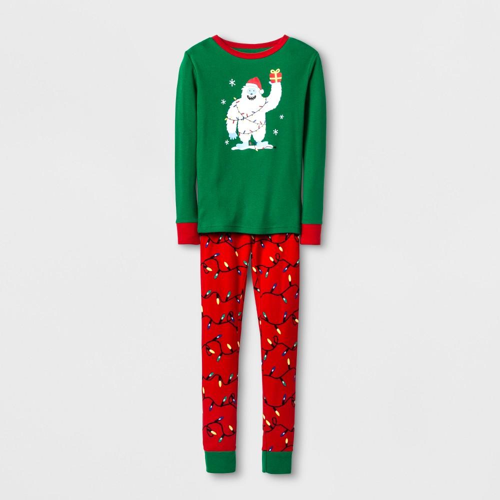 Boys Pajama Set - Cat & Jack Green 6