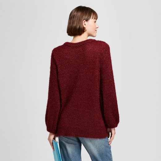 Women's Fuzzy Pullover Sweater - A New Day™ : Target