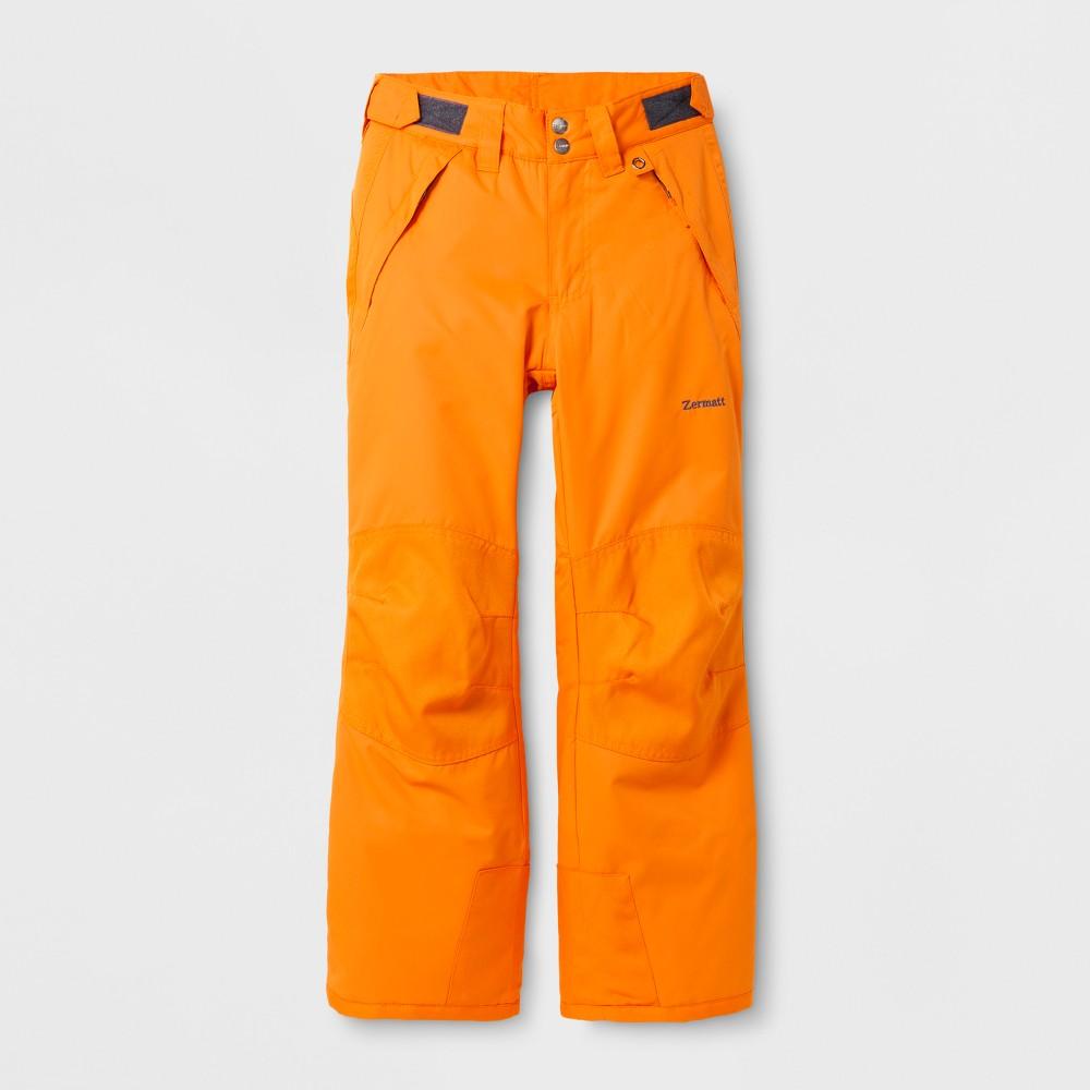 Zermatt Girls Snow Pants - Hyper Orange S
