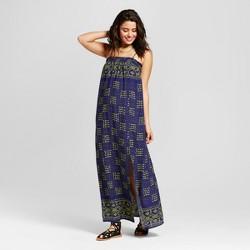 Women's Smocked-Top Maxi Dress - Xhilaration™ (Juniors') Navy