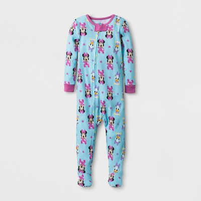 Baby Girls' Disney® Minnie & Daisy Sleep N Play - Aqua 3-6M
