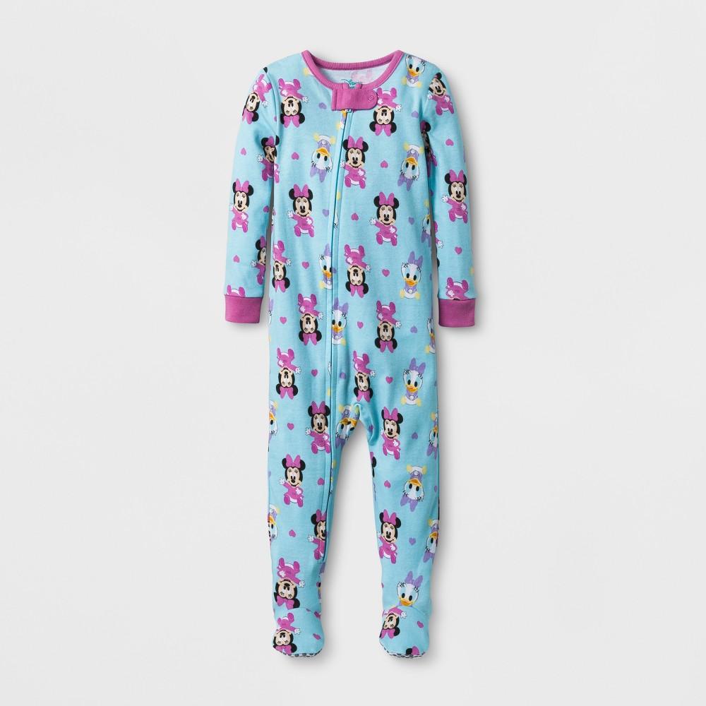 Baby Girls Disney Minnie & Daisy Sleep N Play - Aqua 3-6M, Size: 3-6 M, Blue