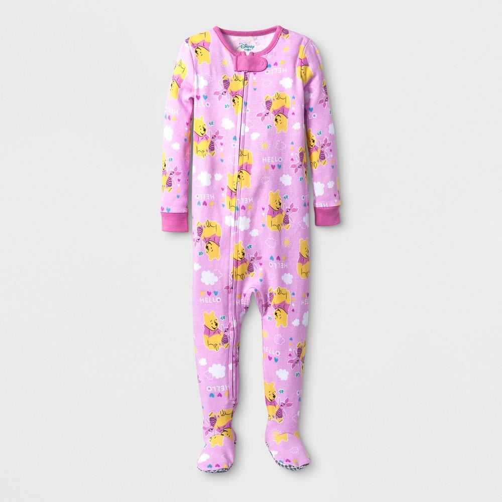 Baby Girls Disney Winnie the Pooh Sleep N Play - Pink 18M, Size: 18 M