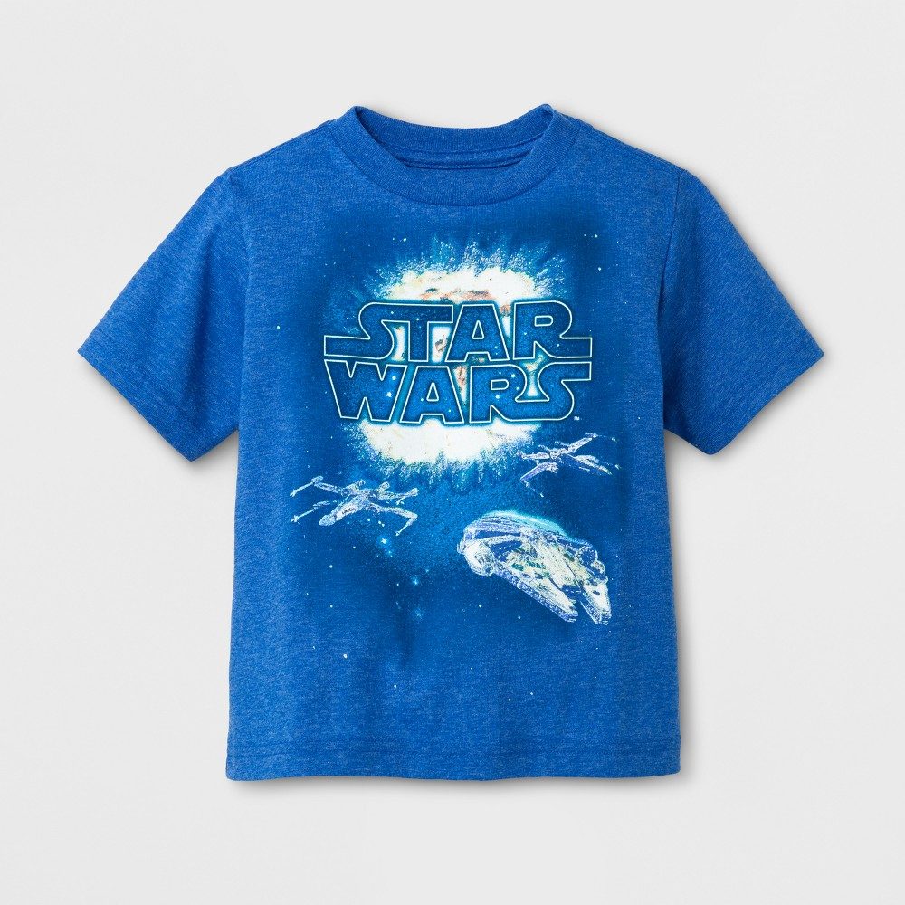 Toddler Boys Star Wars T-Shirt - Blue 12M