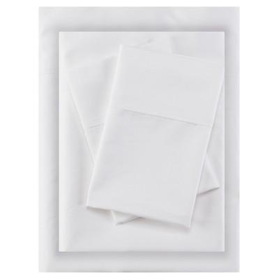 Aloe Vera Cotton Sheet Sets (King)White 400 Thread Count