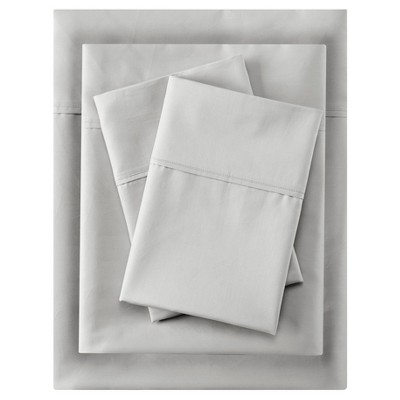 Aloe Vera Cotton Sheet Sets (Queen)Gray 400 Thread Count