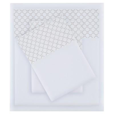 Sheet Sets White Gray Non-woven Fabric TWIN