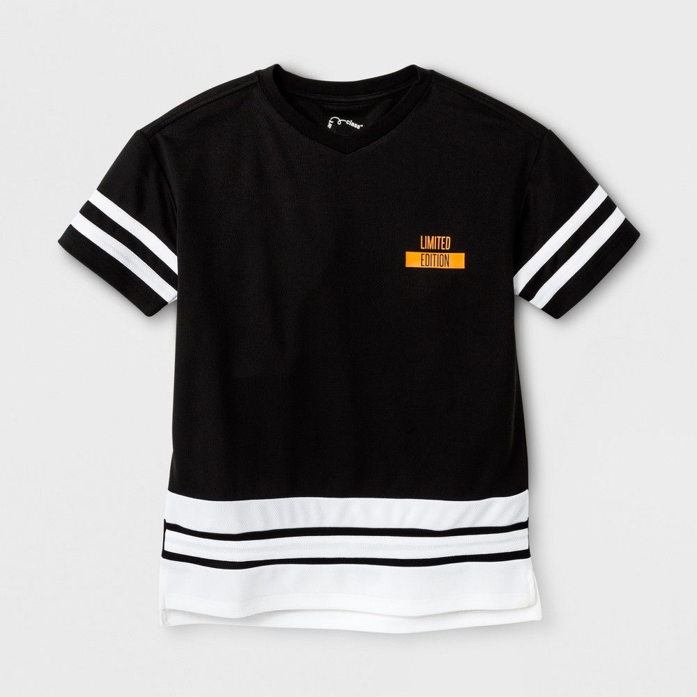 Boys Short Sleeve T-Shirt - Art Class Black S