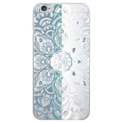 OTM Essentials iPhone 7 Plus/6s Plus/6 Plus Clear Phone Case, Mandala Heart