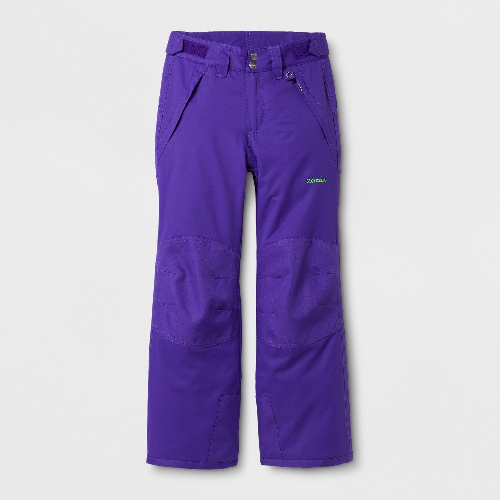 Zermatt Girls Snow Pants - Purple M