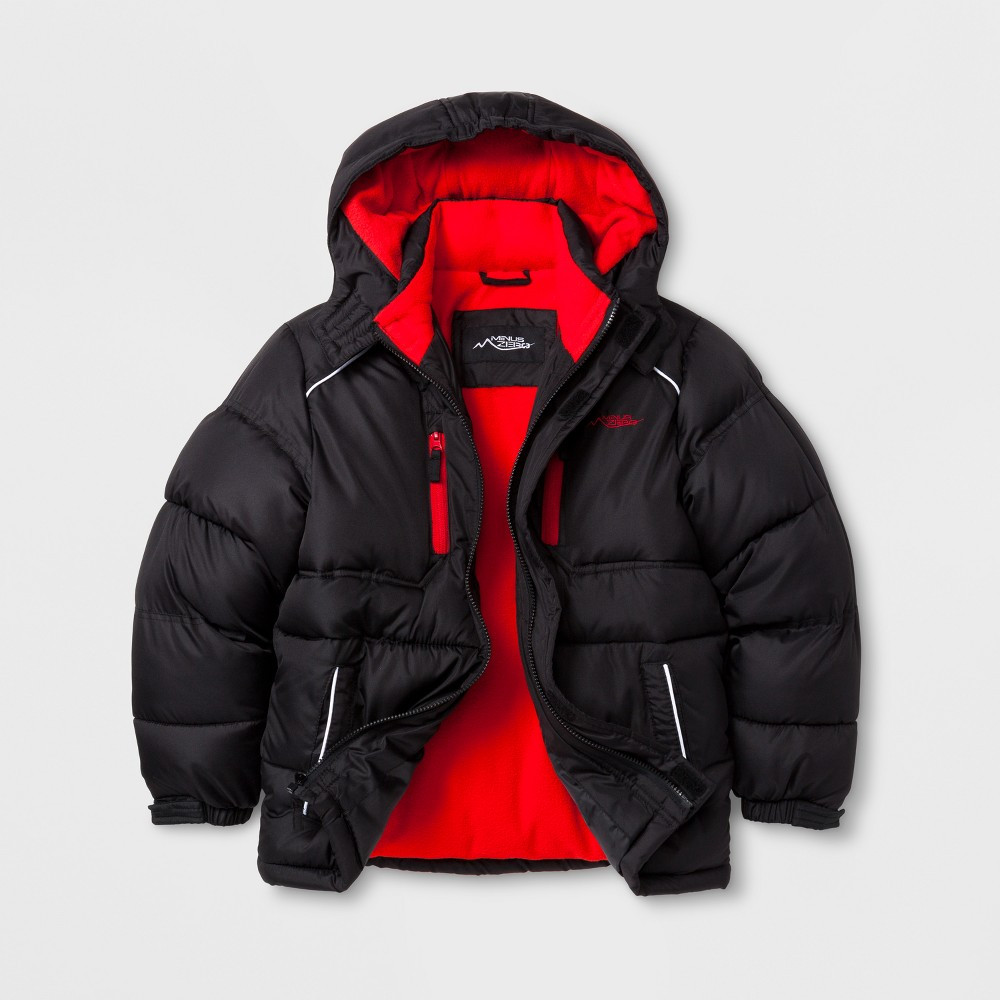 Minus Zero Boys Puffer Jacket - Black XL