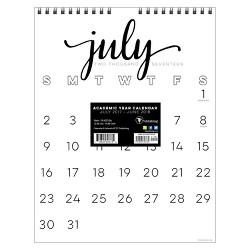 2017-2018 TF Publishing Academic Wall Calendar