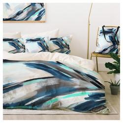 Blue Laura Fedorowicz Don't Let Go Duvet Cover Set - Deny Designs®