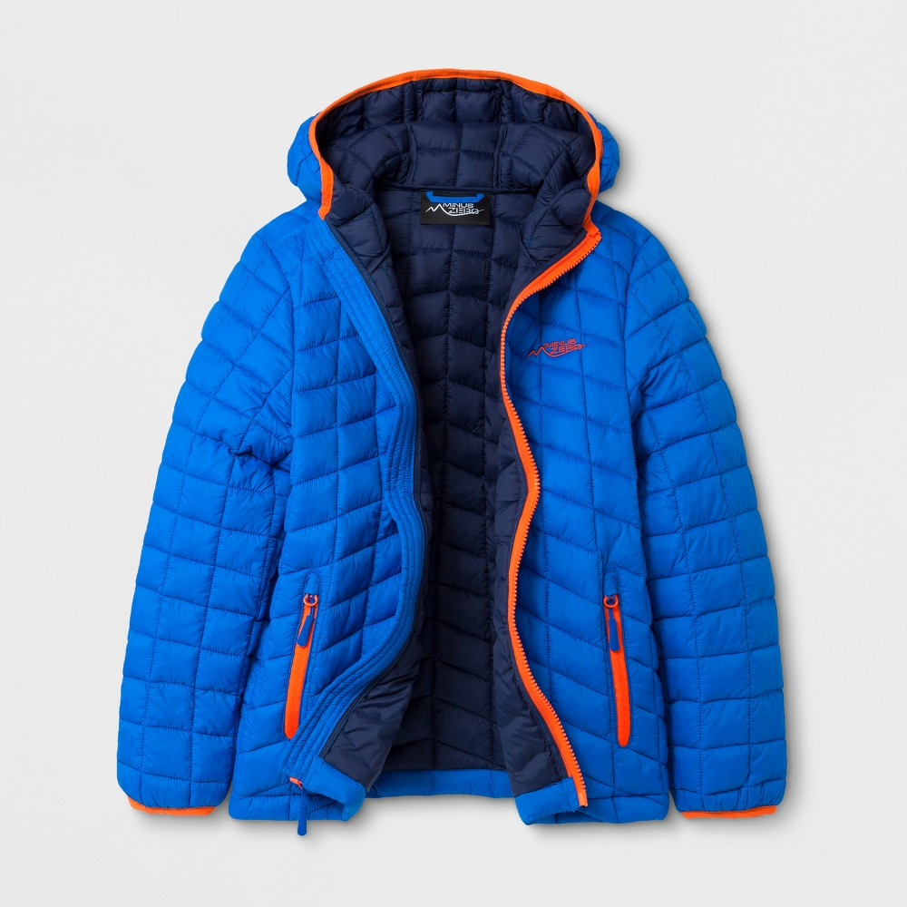 Minus Zero Boys Quilted Jacket - Blue S
