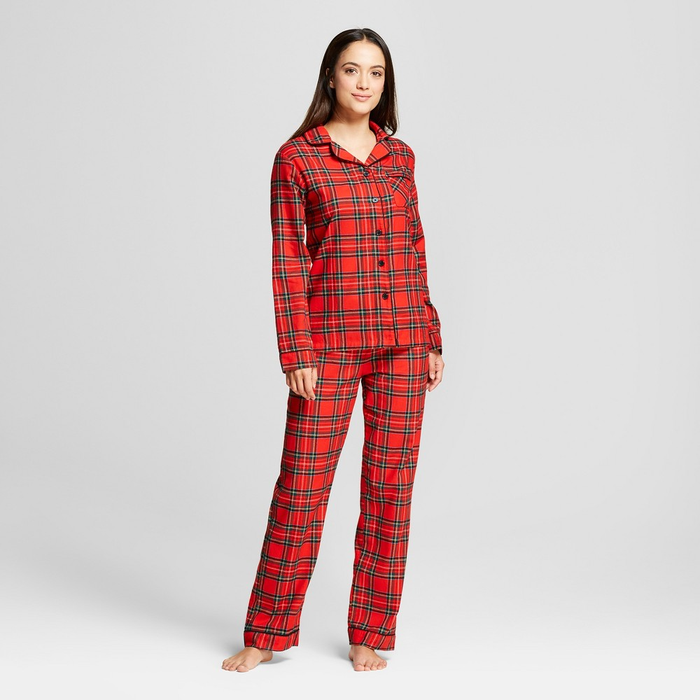 Womens Pajama Set - Red S - Wondershop, Size: Medium, Orange