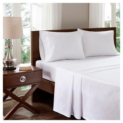 Aloe Vera Cotton Pillowcases Standard White 400 Thread Count - Sleep Philosophy®