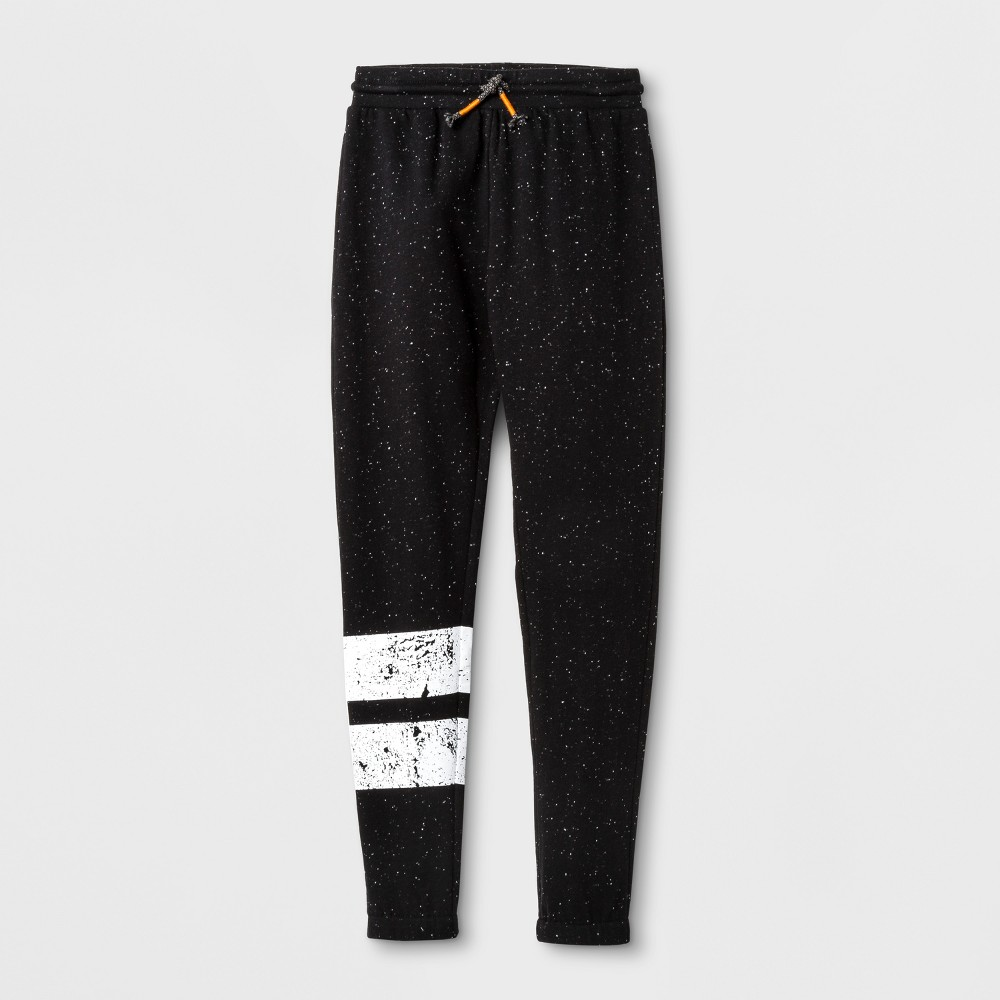 Boys Knit Jogger Pants - Art Class Black XL