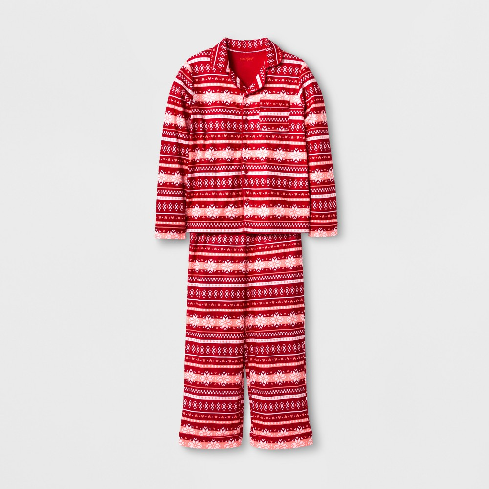 Girls Pajama Set - Cat & Jack Red S